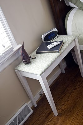 Piano Bench-turned end table: Piano Bench