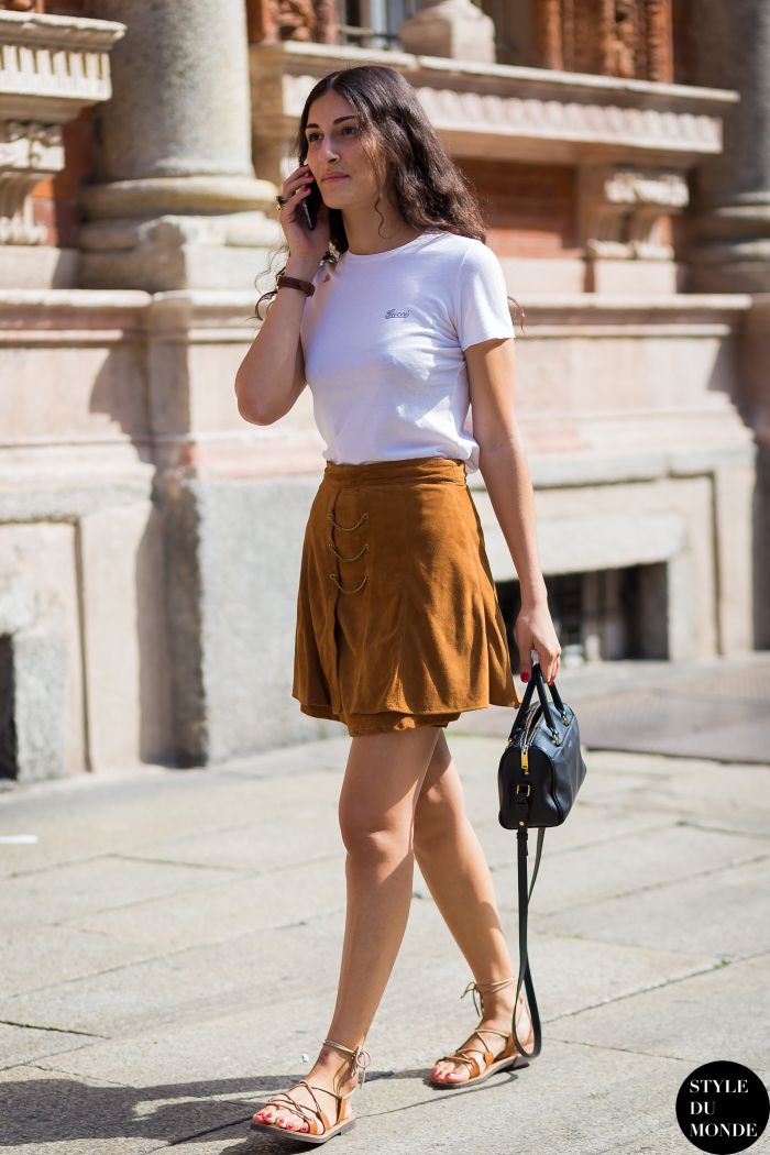 giulia tordini | Giulia Tordini Street Style Street Fashion Streetsnaps by STYLEDUMONDE ...