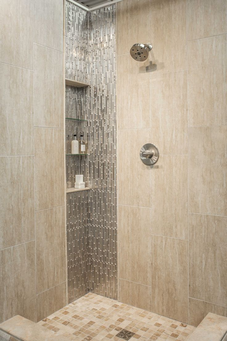 Best 25 beige tile bathroom ideas on pinterest beige shelves tile shower shelf and master master Bathroom wall tile