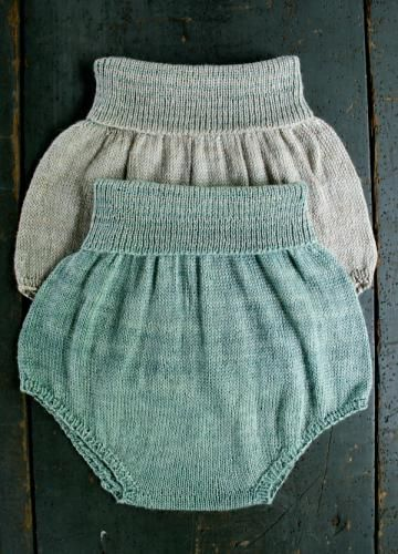 Free Pattern for Knit Baby Bloomers | knitting | Pinterest