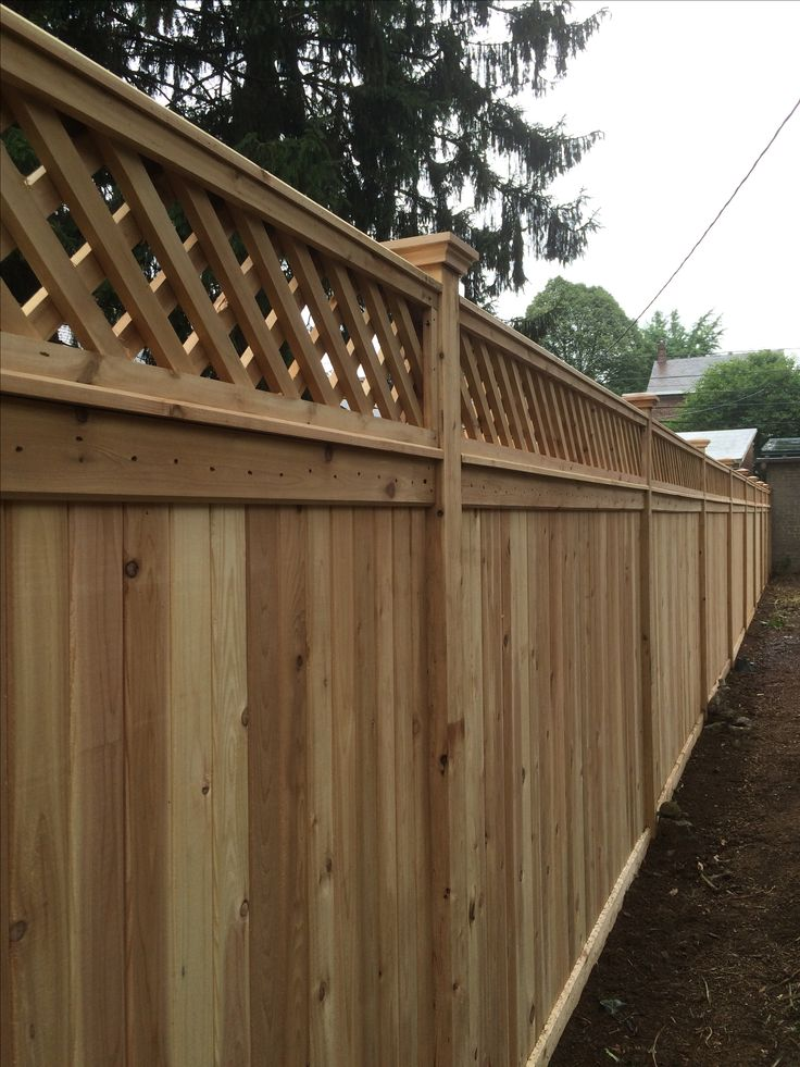 67 Best Wood Fence Styles Images On Pinterest Fence