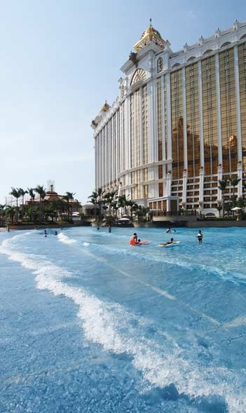 Grand Resort Deck, Galaxy Macau, Macau SAR, China