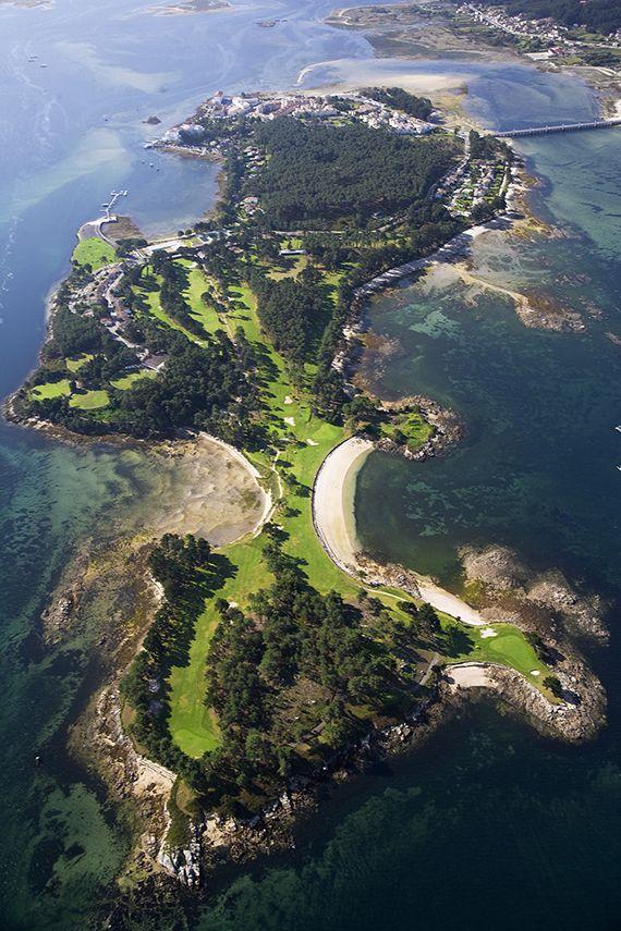 Club de Golf La Toja, La Toja Island, España / Spain
