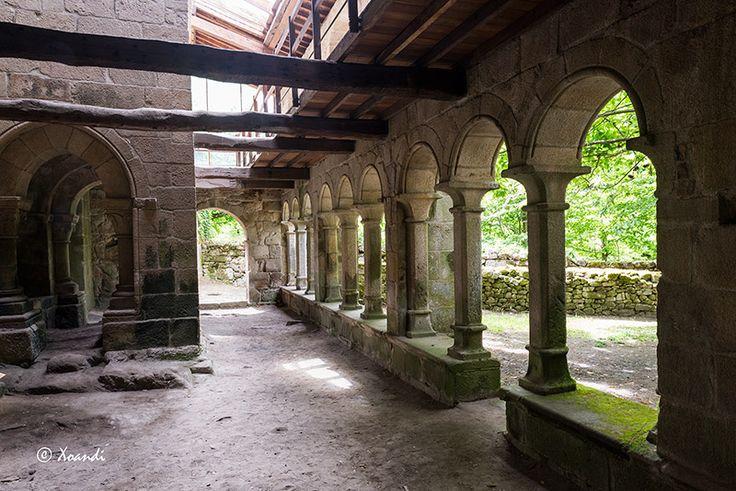 Pasillo lateral claustro   El Blog de Xoandi