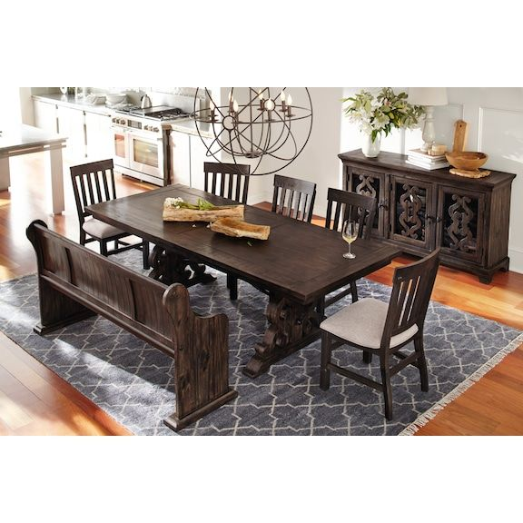Charthouse Rectangular Dining Table 4