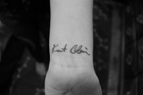 Kurt Cobain signature tattoo....I am so gonna have my own ...