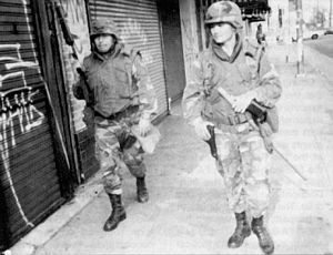 1992 Los Angeles riots - Wikipedia   race, Rodney King, Korean Americans, Hispanics, police brutality