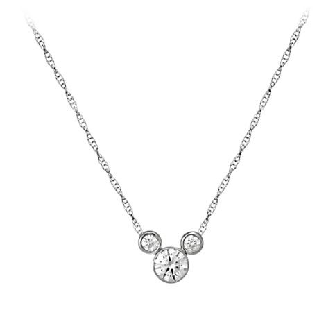 Mickey Mouse Necklace - Medium | Jewelry | Disney Store