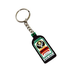 Rubber Bottle Key Chain Jägermeister Shop