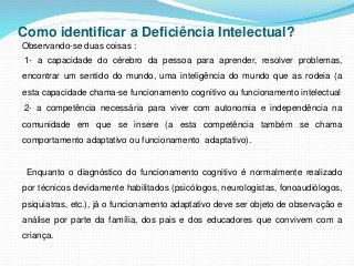 Deficiencia intelectual