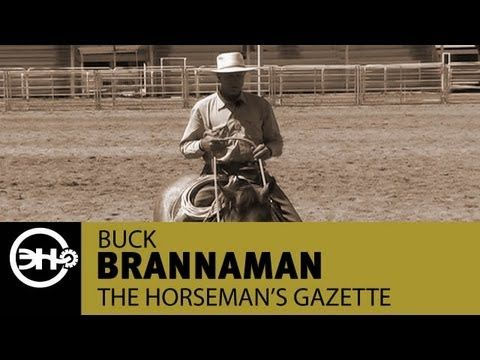 ▶ Keeping Your Horse Centered with Buck Brannaman - YouTube
