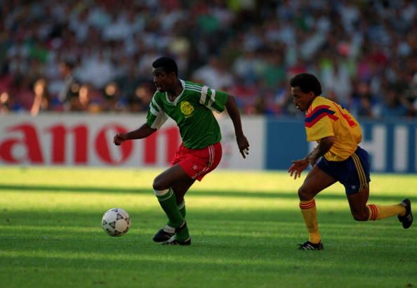1/8: Cameroon - Colombia 2:1 (et)