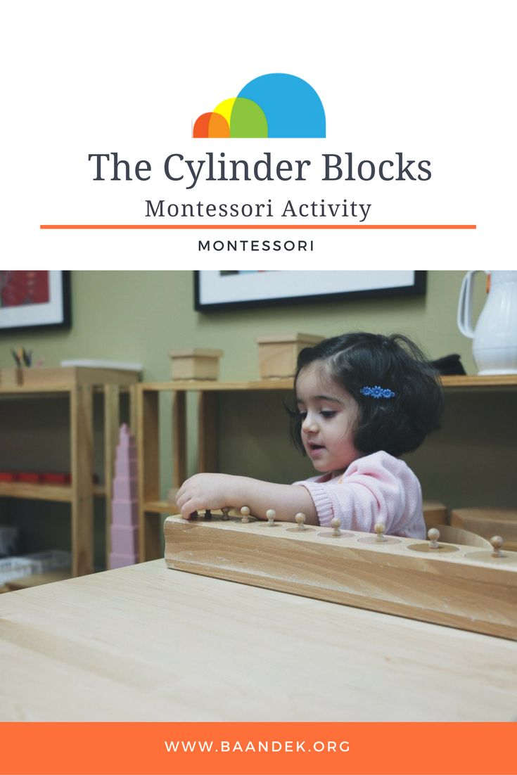 THE CYLINDER BLOCKS ACTIVITY Montessori Activities  What's at work with the cylinder blocks? Let's find out.