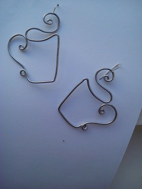 Ear rings from my new collection <3 coffee cups!!!! #handmade #love #coffee