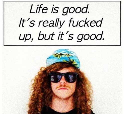 Blake says it best! Workaholics