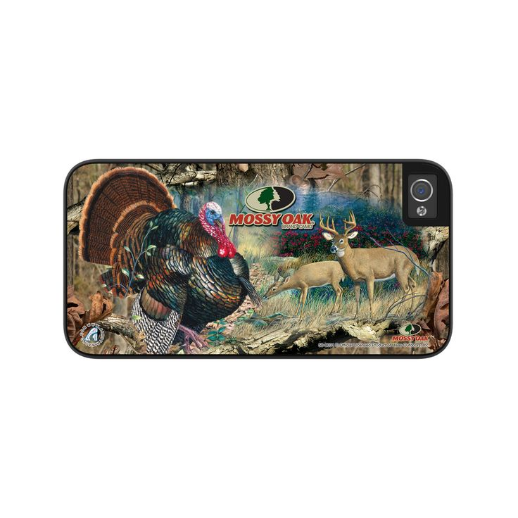 Airstrike® Camo Phone Case Mossy Oak Break Up Deer Turkey iPhone 5s Case, Deer Hunting Camo iPhone 5 Case, iPhone Case Protective Phone Case-50-8031