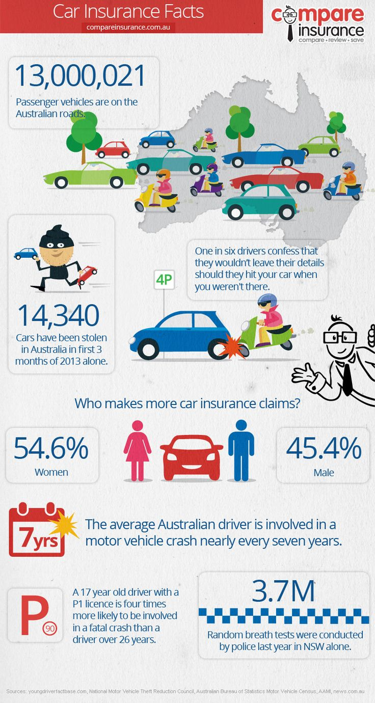 Car insurance facts infographic Cars Insurance Car