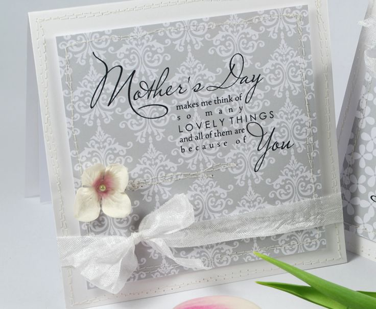 'Lovely Mum' Sentiments & Brocade paper design from the Colour Collection.