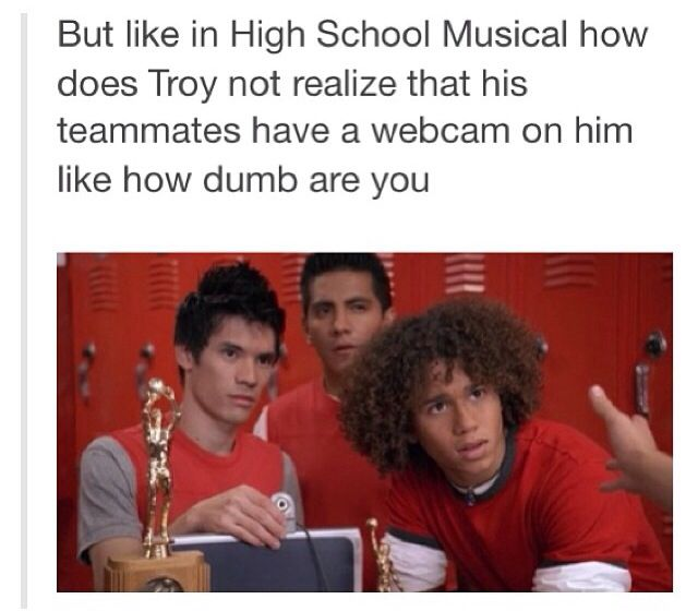I've always thought this!! C'mon Troy!!