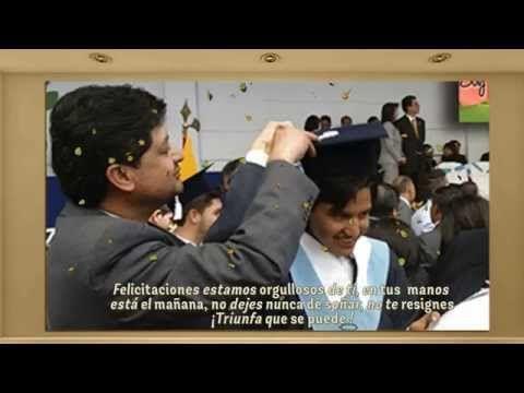Felicitaciones por tu Grado | Pablito | 2015 - YouTube