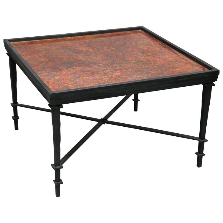 William Loyd Hand-Painted Coffee Table