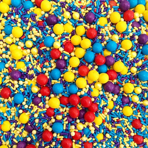 Wiggly Wiggles Party Sprinkles. The Wiggles party. Sprinkles