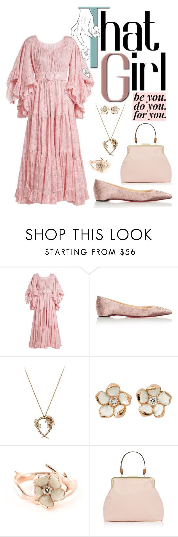 """That Girl"" by daughter-of-apollo92 ❤ liked on Polyvore featuring Gül Hürgel, Shaun Leane and Therapy"