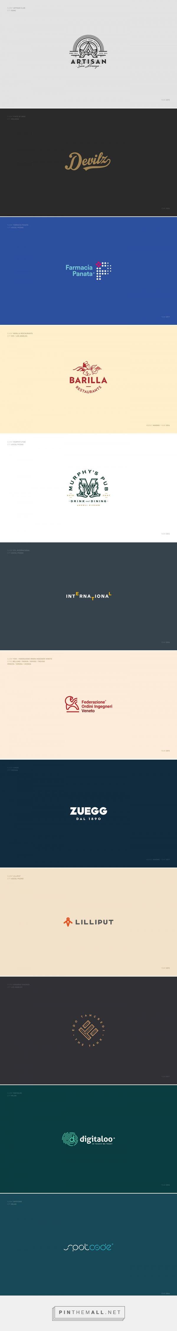 Logotypes & Marks 2015 18 on Behance created via s pinthemall