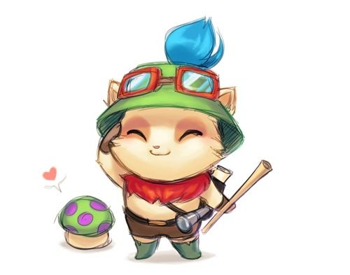 league of legends teemo chibi - Google Search