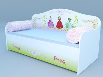 """Кровать диван """"Принцессы"""""""