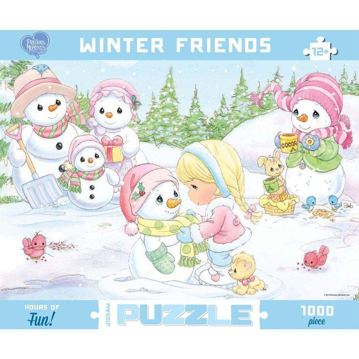 Precious Moments Winter Friends 1000 Piece Puzzle