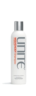 Weekender Shampoo: 1-2 times a week; gives hair a protein boost to enhance strength (great for swimmers whose hair turns green from chlorine)