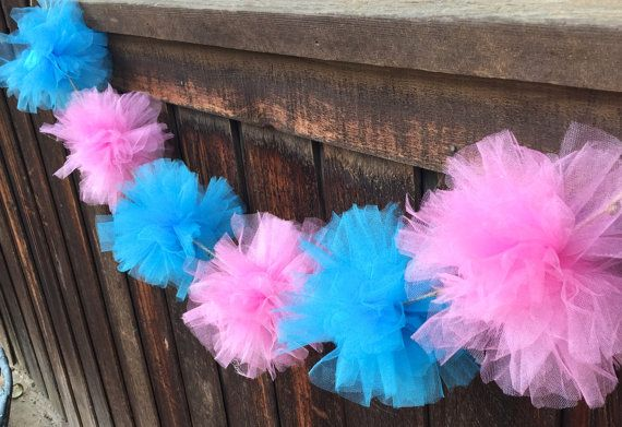 gender reveal decorations gender reveal by ThatCraftyAuntieEm