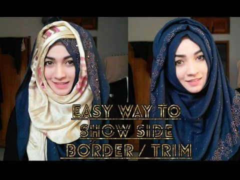 Everyday Hijab Tutorial (with twisted back!) - YouTube