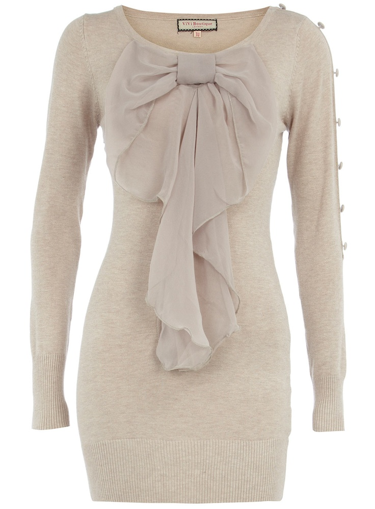 Bow jumper !: Beautiful Bows, Bow Dresses, Style, Bows Dresses, Closet, Beauty