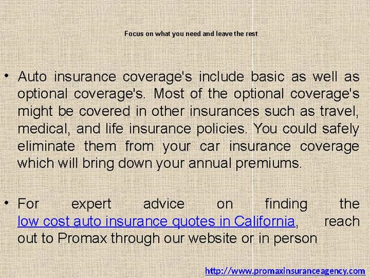 low cost auto insurance on Vimeo