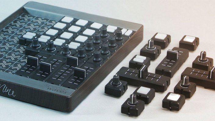 Mine, un controlador MIDI modular inteligente, personalizable y sexy