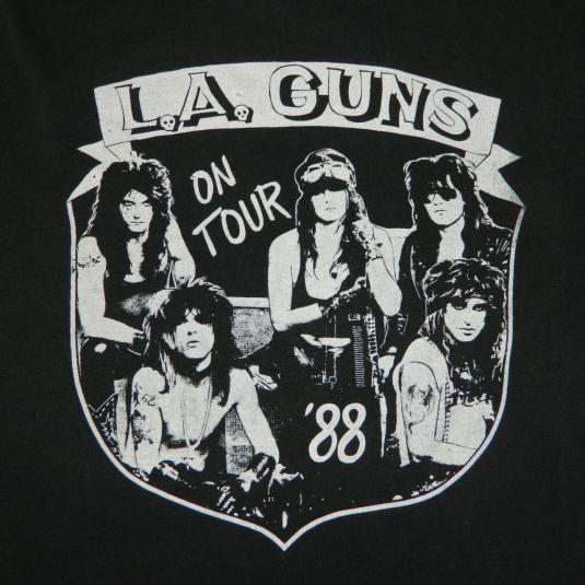 vintage la guns 1988 show no mercy tour t shirt l a 80s vintage rock t shirts pinterest. Black Bedroom Furniture Sets. Home Design Ideas