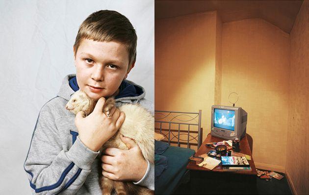 When a Kid's Bedroom Isn't a Room....photo essay
