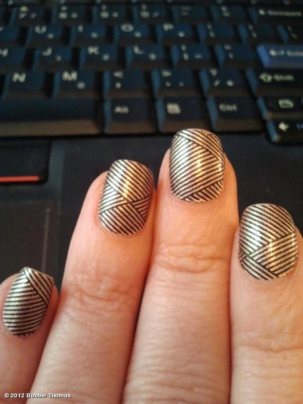 #Incoco press-on polish strips I had to try myself! #BobbieThomas #NailArt