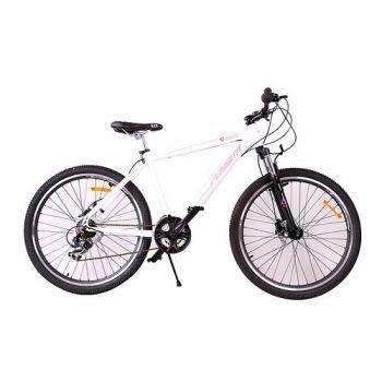 Bicicleta M6012 21 viteze hydraulic, Alb