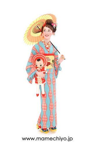 mamechiyo kimono designer