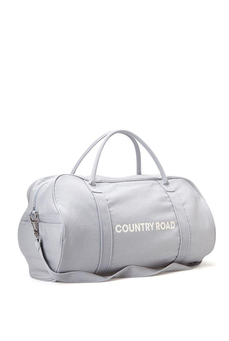 Men's Accessories   Belts, Ties, Bags, Wallets - Country Road - Zip Canvas Logo Tote