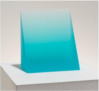 Peter Alexander, 'Turquoise Wedge', 2015