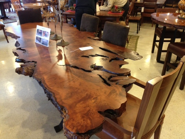 Great Stunning, Natural Wooden Table And Chairs! #shopGF | Houston TX | Gallery  Furniture | | Made In America | Pinterest | Wooden Tables, Wood Furniture  And ...