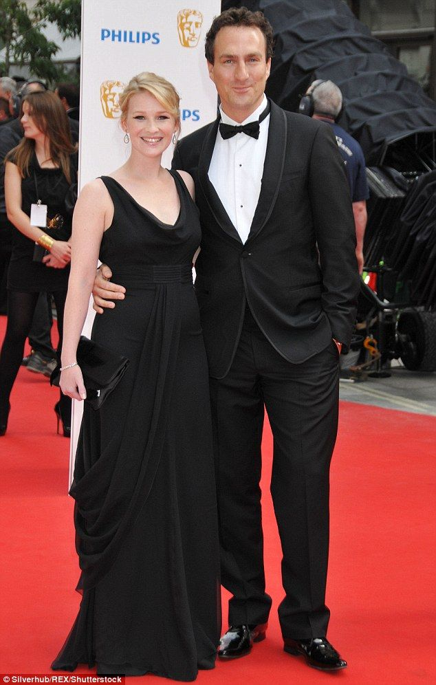 Happy news:Gavin and Stacey star Joanna Page has welcomed her third child into the world with husbandJames Thornton
