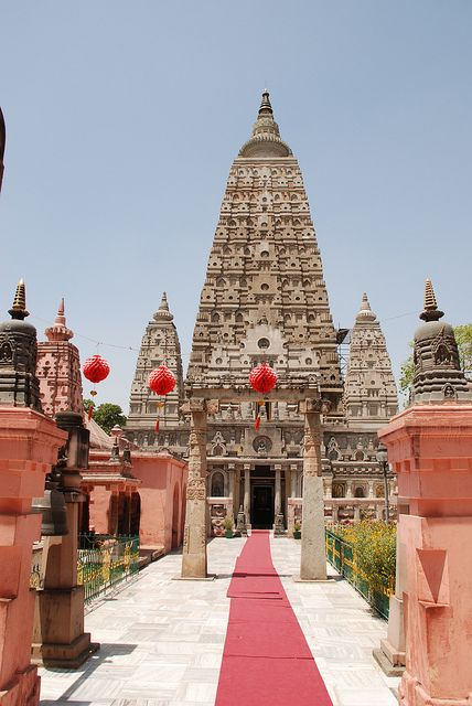 Bodh Gaya is a pious place located in Gaya District of Bihar , where Gautama Budhha have attained the spiritual enlightenment. It is religious Buddhist site of India , associated with the Mahabodhi Temple.