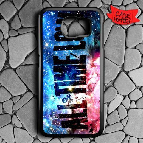 All Time Low Galaxy Nebula Samsung Galaxy S7 Black Case