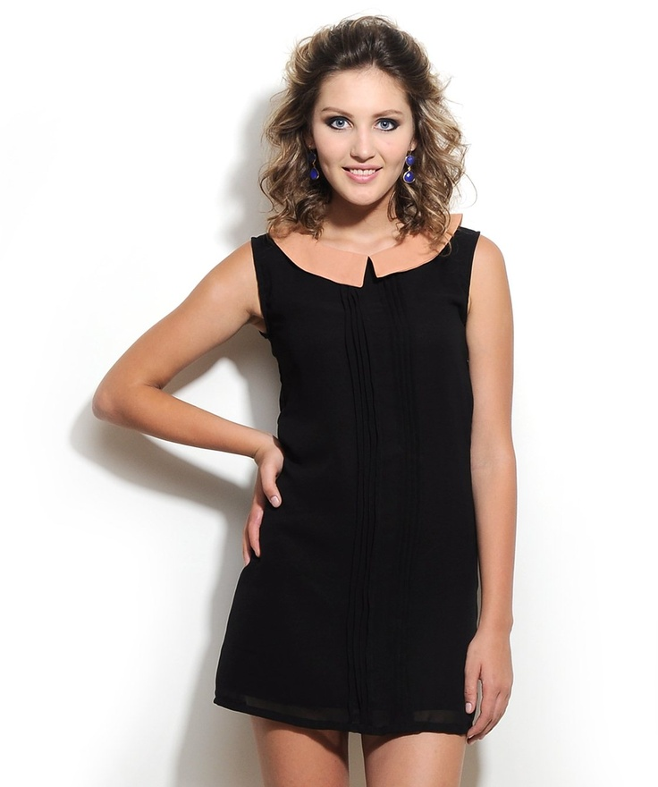#Black #ShiftDress by Corsage http://www.mydesignersales.com/designers-2/corsage/black-shift-dress-by-corsage.html