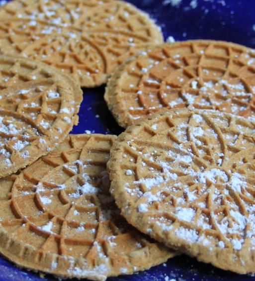 Whole Wheat Cinnamon and Spice Pizzelle Recipe                                                                                                                                                                                 More